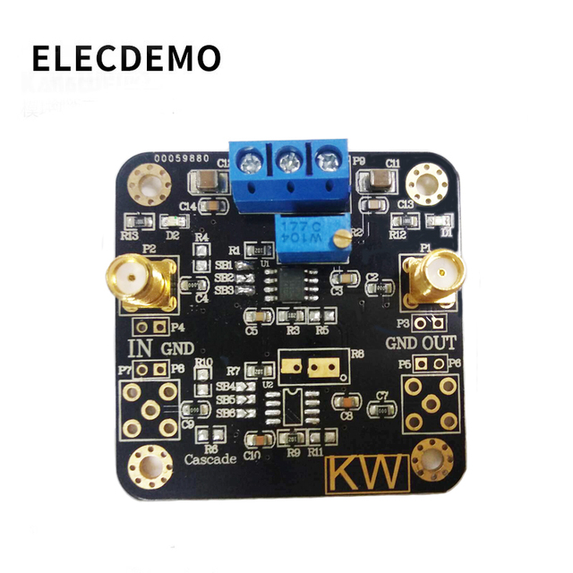 Opa1611 módulo de baixa potência precisão operacional amplificador áudio pré amplificador op amp função demo placa