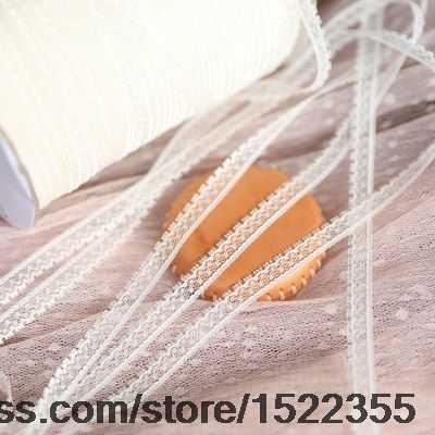 1/متر التجارة الخارجية الملابس الأصلية حساسية الدانتيل 0.8 سنتيمتر