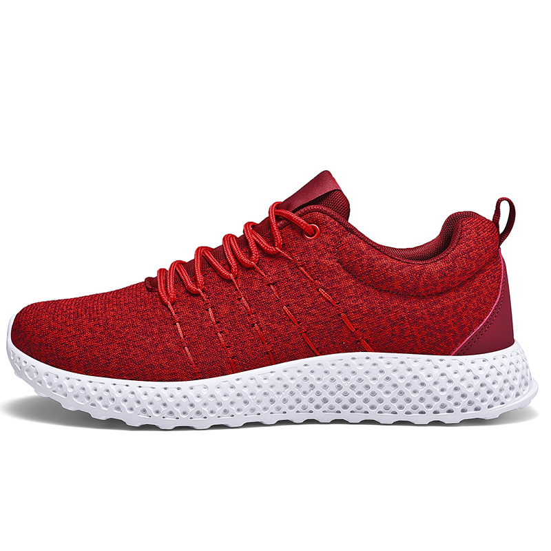 Mesh Men Casual Sports Shoes Comfortable Running Shoes Men Lightweight Walking Shoes Male Breathable Outdoor Sneakers Lace-up
