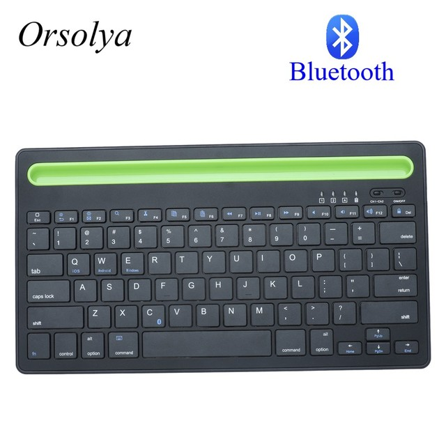 Bluetooth MIni Keyboard With Phone Holder Wireless Keyboard For Tablet/Laptop/phone,Compatible with IOS/Windows/Android