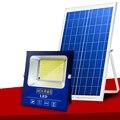 A2 100-500W солнечное освещение больший светодиодный Солнечная Светодиодные лампы супер Bright100 ㎡ мА большая емкость батареи прожектор Беспровод...