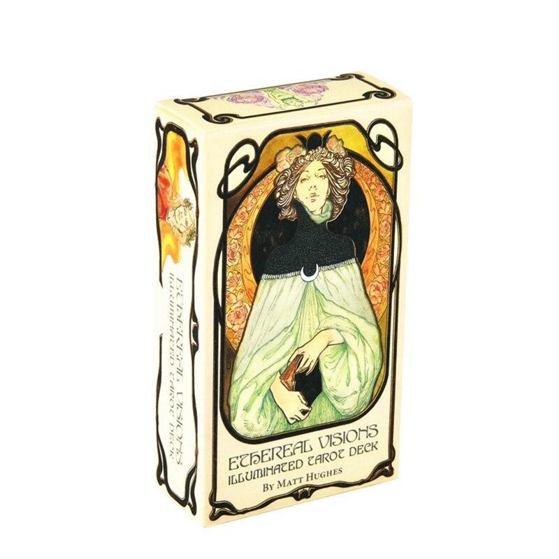 Ethereal Visions Illuminated Tarot Deck 80 Cards 11*6cm Tarots Card