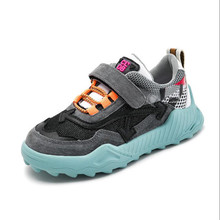 2019 New Autumn kids shoes toddler boys casual sneakers girls breathable fashion platform flat children school shoes size 26-37 стоимость