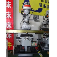 5H Milling Machine High Precision Mold Processing Mill Machine Tools Vertical Milling Machine 220V/380V 2.2KW/3HP (254x1270mm)