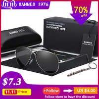 Gafas de sol polarizadas 2018 HD UV 400 para hombre, gafas de sol de conducción frescas para hombre, gafas de sol para conducir, gafas de sol con caja
