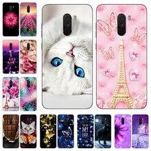 Silicone Cover For Xiaomi Pocophone F1 Case 6.18' Printing Pattern Cute Phone Cases for Xiomi Pocophone F1 Poco F1 Fundas Coque цена и фото