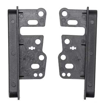 2 Din Fascia Bracket Music DVD CD Dash Panel Frame Mount Interior Cover Holder CA1662 for Toyota Yaris Rav4 Camry Corolla Prado image