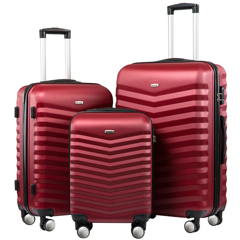 Business Suitcases  20 24 28 Inch Set Carry On Luggage Spinner Lightweight Hardshell Suitcase with  Lock for Travel Business