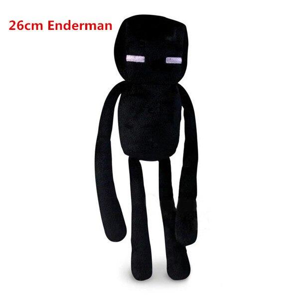 Cute Enderman Plush Toys 26cm Even Cool Creeper Stuffed Plush Toys Dolls Game Cartoon Classic Toys Gifts