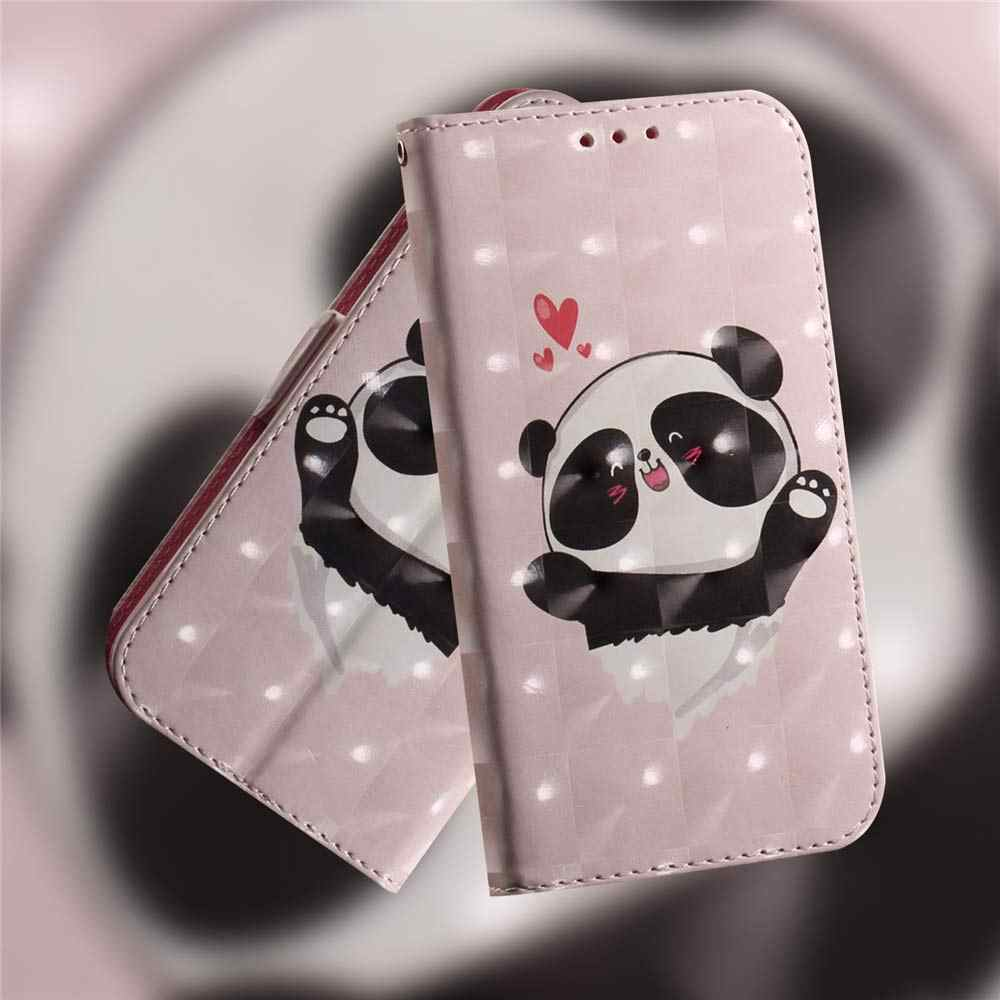 3D محفظة فليب ل نوكيا 4.2 3.2 2.2 1 زائد غطاء الكرتون بو حقيبة جلد ل نوكيا 3.1 5.1 6.1 7.1 8.1 زائد 9 PureView