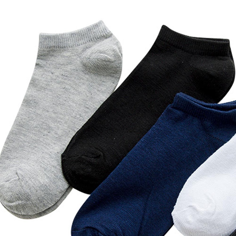 1Pair Spring Summer Men Cotton Ankle Socks Men Business Casual Solid Color Short Socks Male Sock