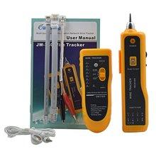 JW-360 LAN Сетевой кабель тестер телефонный провод трекер диагностический тон набор инструментов RJ45 RJ11 линия поиск Последовательное тестирование