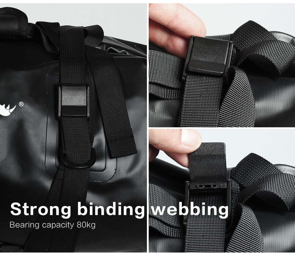 Rhinowalk Bicycle Luggage Bags 20L Full Waterproof for Road Bike Rear Rack Trunk Cycling Saddle Storage Pannier Multi Travel Bag (15)