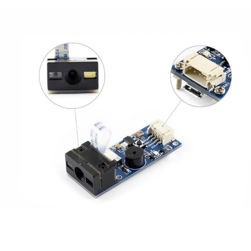 Module de Scanner de Codes à barres de magasin shenzhen, lecteur de Codes 1D/2D, UART, interface USB