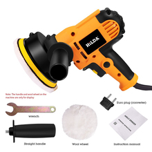 220V 700W Portable Car Polisher Polishing Machine Angle Grinder Adjustable Speed Car Waxing Polishing Machine Electric Polisher