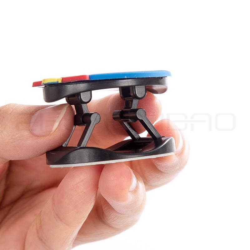 3D Del Modello Del Fumetto Pieghevole Impugnatura Supporto Del Telefono per Il Iphone Samsung Huawei Xiaomi Caso Sveglio Del Silicone Del Supporto Del Basamento Della Staffa
