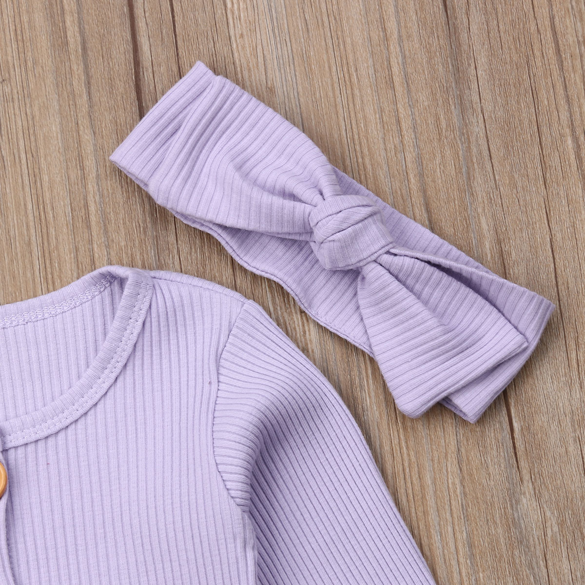 H52a25d3a20af4fd1bcdd332863fa11a9c Spring Fall Newborn Baby Girl Boy Clothes Long Sleeve Knitted Romper + Headband Jumpsuit 2PCS Outfit 0-24M