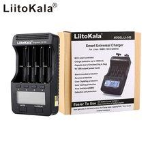 Liitokala lii-100 lii-202 lii-402 lii-500 Lii-NL4 carregador de bateria recarregável aa aaa 9v ni-mh ni-cd baterias 18650 ch bateria