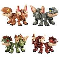 Mini jouet éducatif à Joint mobile pour enfant, Robot de Transformation, modèle de dinosaure, cadeau d'anniversaire