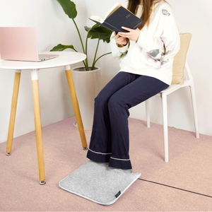 Image 3 - 원래 샤오미 Youpin 전기 발 따뜻하게 난방 패드 일정한 따뜻한 접이식 쿠션 겨울 난방 피트 신발 전기 담요