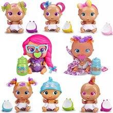 Original mini yummy/kuki/pinky/muak/boo roasty crianças jogar casa diversão brinquedo interativo presentes de natal