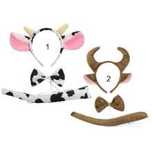 3 шт/компл корова головные уборы для животных больших размеров