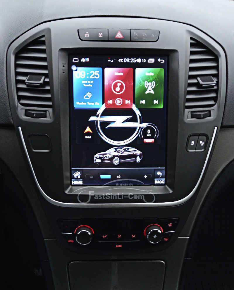 64G Auto Android8.1 per Opel insignia Buick Lacrosse 2009-2013 Giocatore di Navigazione GPS schermo Verticale