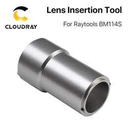Cloudray Objektiv Insertion Tool D37 für Kollimierenden Schwerpunkt Objektiv auf Raytools BM114S Faser Laser Schneiden Kopf