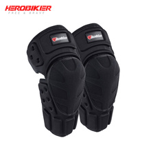 HEROBIKER мотоциклетные Наколенники Защита колен для мотокросса защита мото наколенники Защитное снаряжение мотоцикл Ridng колено черный