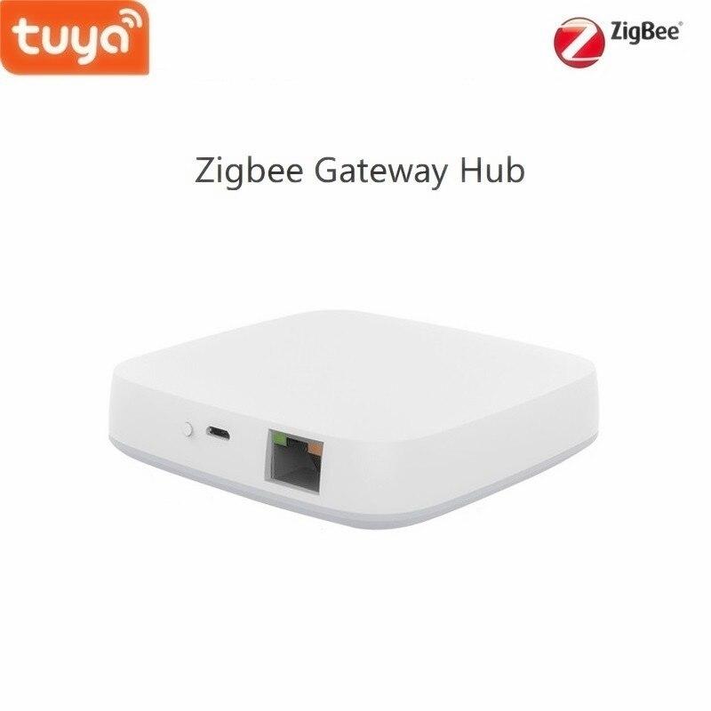 Tuya Smart Home Zigbee Gateway Hub,A Bridge Of Smart Zigbee Devices,  Work With Tuya Wifi Products In Same System