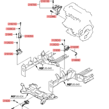 Для HYUNDAI 11-15 Elantra-двигатель крепление крутящий момент кронштейн двигателя передний кронштейн OEM