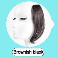 Allaosify, длинные волосы на заколках спереди, боковая бахрома, накладные волосы, натуральные синтетические челки, волосы для женщин, имитация ч...