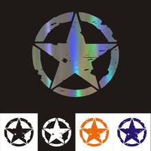 Автомобильная наклейка звезда автомобиль мотоцикл украшение
