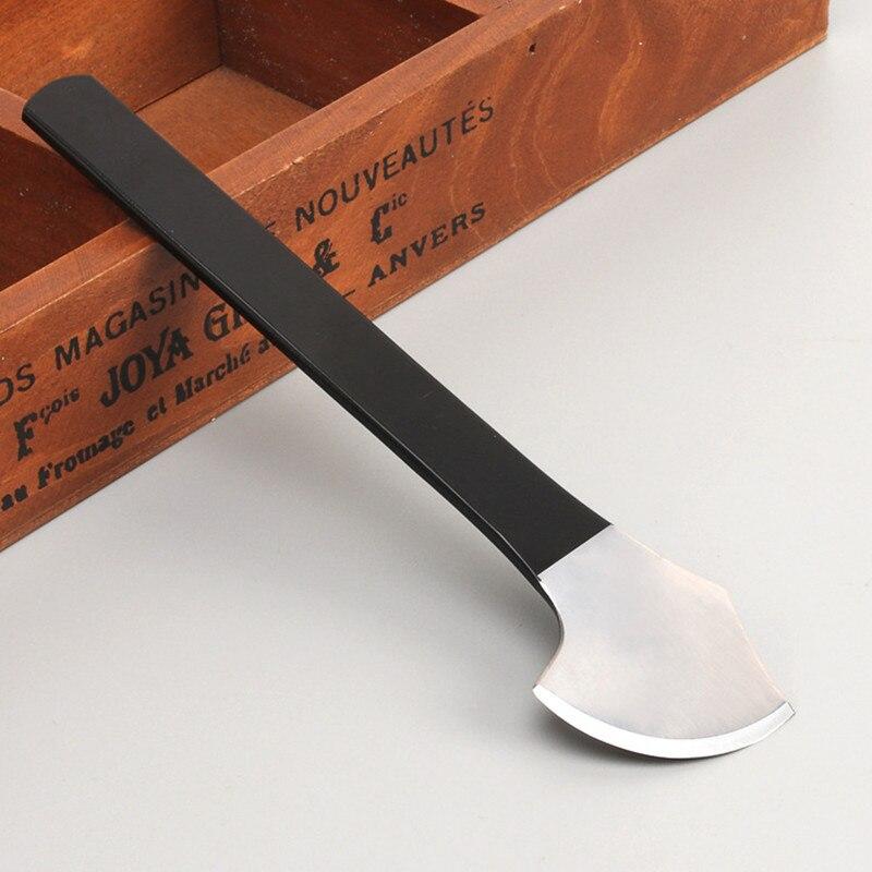 1Pcs Leather Cutting Knife Tool Leather Craft Skiving Sharp Handle Knife Leathercraft Handwork DIY Tool