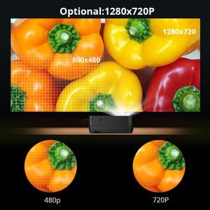 Image 5 - BYINTEK Mini Projector K7 ,1280x720P,Smart Android Wifi Video Beamer; Portable LED Proyector for Full 1080P 3D 4K Cinema,latest