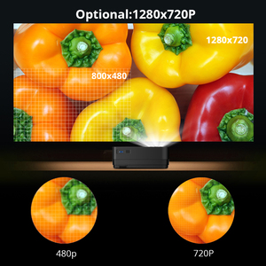 Image 5 - Byintek Mini Projector K7 ,1280X720P,Smart Android Wifi Video Beamer; draagbare Led Proyector Voor Volledige 1080P 3D 4K Cinema, Nieuwste