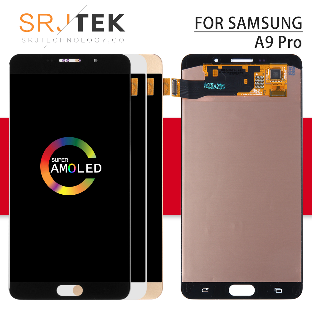 6.4 Srjtek For SAMSUNG Galaxy A9 Pro 2019 Display with Touch Screen Digitizer Panel Assembly For Galaxy A8S LCD G8870 SM-G887FZ