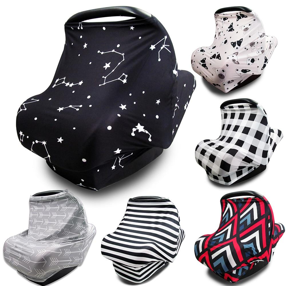 Allaitement allaitement couverture d'intimité bébé écharpe infantile siège de voiture poussette allaitement écharpe soins infirmiers couvertures