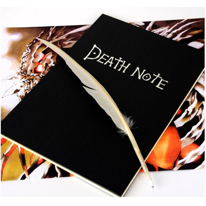 2020 Planner Anime Death Note Book Lovely Fashion Theme Ryuk Cosplay Notebook New School Supplies Large Writing Journal Agenda