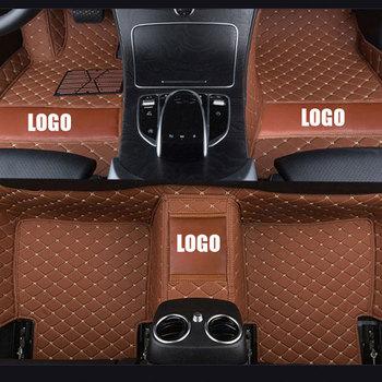 Custom Leather Car Floor Mats for Cadillac ATS Coupe CT6 CTS Coupe Sport Wagon SRX xt5 XTS Saloon Suv Estate Sedan Auto Foot Mat