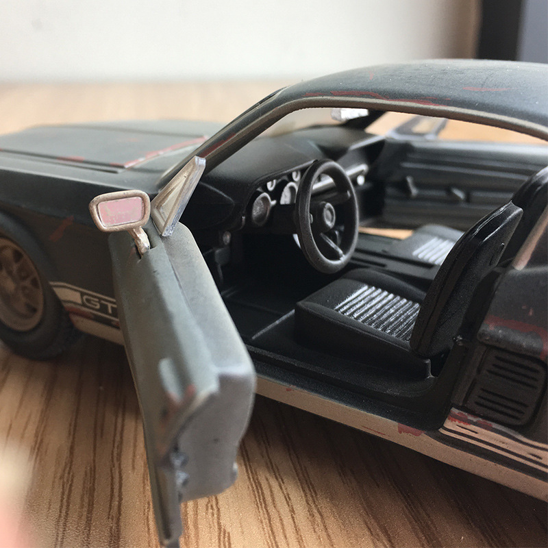 Maisto 1967 Ford Mustang GT Car Model 1: 24 Mustang To Do The Old Model Alloy Car Model