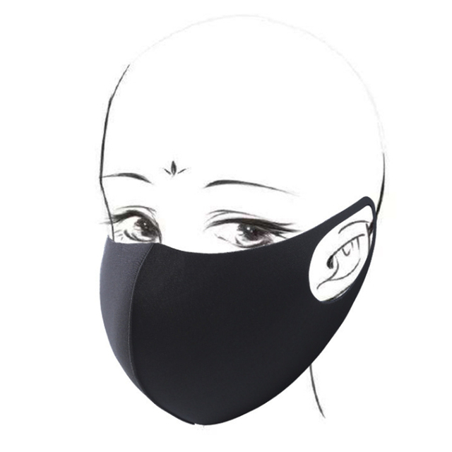 10pcs Face Mask Black Mouth Mask Reusable Mask Washable Mascarillas Face Shield Masque Facial Mask 3