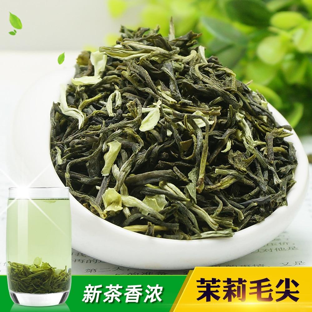 2021 Chinese Jasmine Flower Green Tea  Real Organic New Early Spring Jasmine Tea  for Weight Loss Green Food Housewares