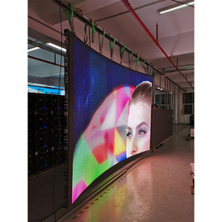 Voll farbe led-panel indoor p3.91 led display video wand