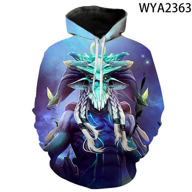 New Games Dota 2 Hoodies Fashion Men Women Children 3D Printed Streetwear Pullover Long Sleeve Boy Girl Kids Casual Sweatshirts 2