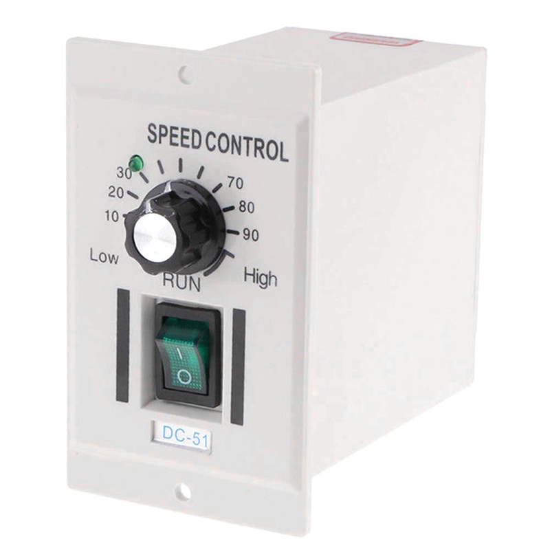 Ac 110V 400W Knob Motor Speed Controller Dc 0 90V Variable Adjust Lathe Control in Replacement Parts Accessories from Consumer Electronics
