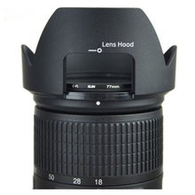 цена на Professional Lens Hood Replace HB-58 Petal Lens Hood For Nikon AF-S DX 18-300mm f/3.5-5.6G ED VR LENS Shade HB58 Camera Lens
