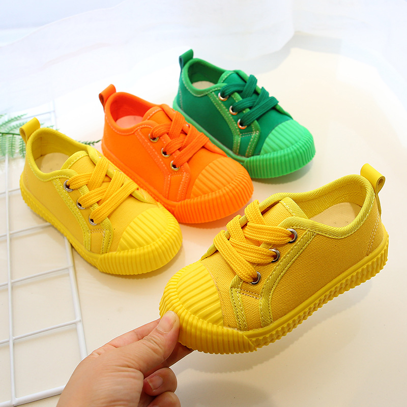 Boys Canvas Shoes Sneakers Girls Tennis