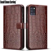 Флип-кейс для Samsung Galaxy A31, чехол в стиле ретро, кожаный чехол-кошелек для Samsug A 31, сумка для телефона, чехол для Galaxy A31, магнитный чехол-книжка