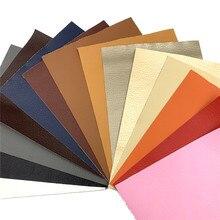 A5 20% 2A15CM Litchi PU кожа винил ткань искусственный кожзам для серьги шитье сумка одежда автомобиль диван DIY лук материал лист рулон